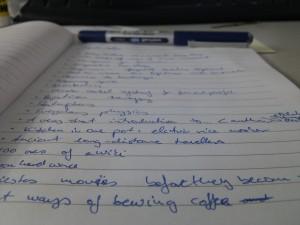 Ignite talk brainstorming