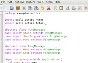 Scala screenshot