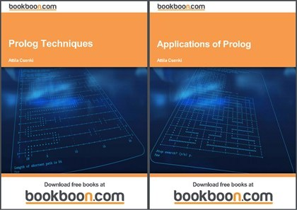 Two prolog book covers