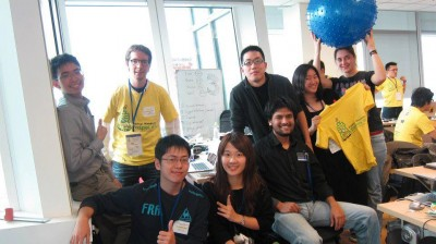 The Drimmit team at StartupWeekend Taipei 2