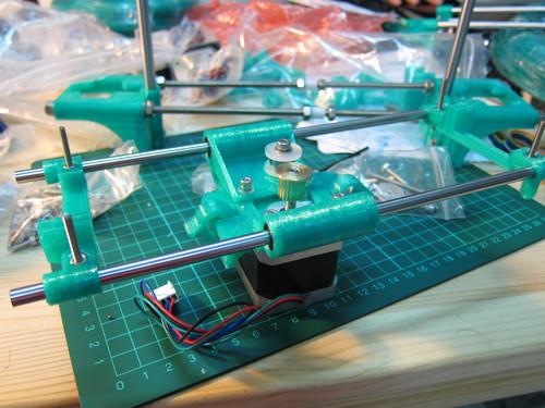 Base motor assembly