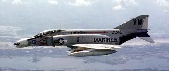 F-4B aircraft